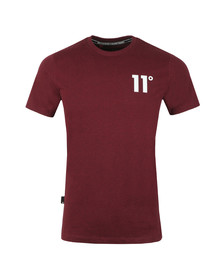 Eleven Degrees Mens Red Core Tee