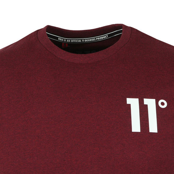 Eleven Degrees Mens Red S/S Core Tee main image