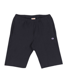 Champion Reverse Weave Mens Blue Small Logo Jersey Short