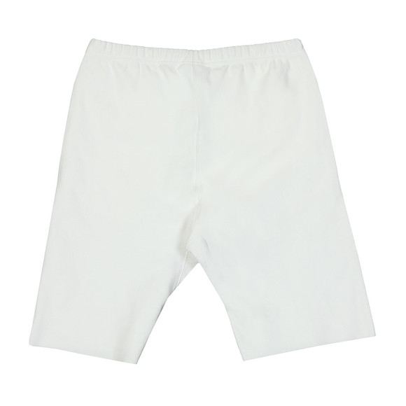 Champion Reverse Weave Mens White Small Logo Jersey Short main image