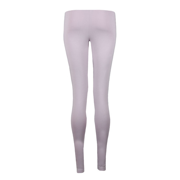adidas Originals Womens Purple Cuffed Tight Leggings main image