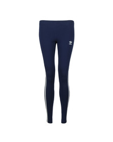adidas Originals Womens Blue 3 Stripe Leggings