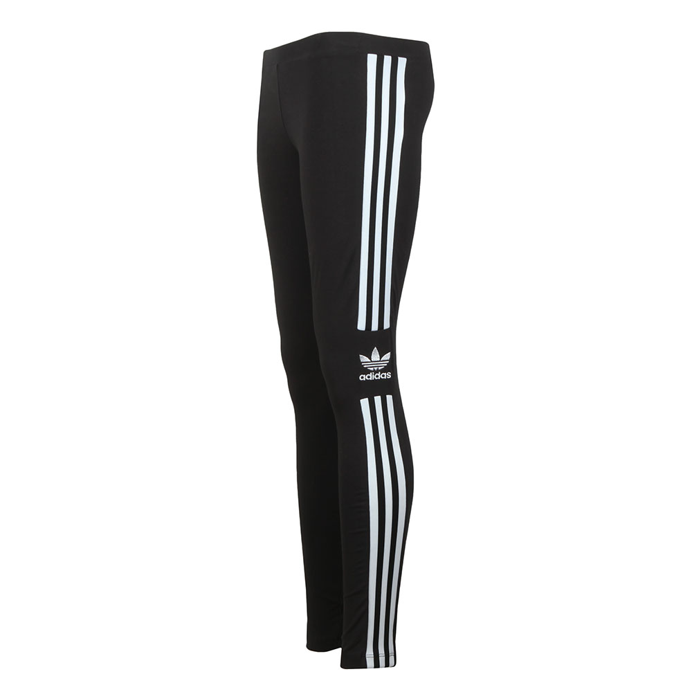 835b4bf79d24a adidas Originals Womens Black Trefoil Tight Leggings main image. Loading  zoom