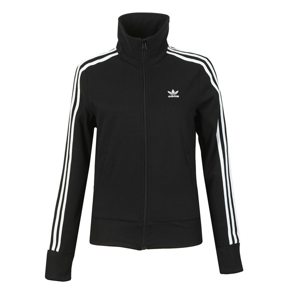 adidas Originals Womens Black Track Top