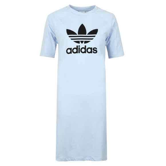 adidas Originals Womens Blue T Shirt Dress main image