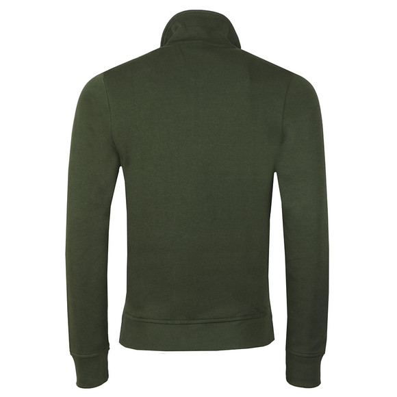Lacoste Mens Green SH4288 1/2 Zip Sweat main image