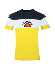 Ellesse Mens Yellow Gubbio Tee