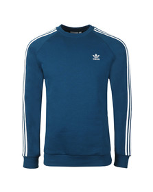 adidas Originals Mens Blue 3 Stripes Sweat