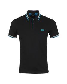 BOSS Mens Black Athleisure Paul Polo Shirt