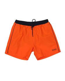 BOSS Bodywear Mens Orange Starfish Swim Short