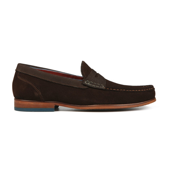 Ted Baker Mens Brown Saddle Loafer