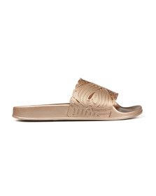 Ted Baker Womens Bronze Missley Metallic Laser Cut Slider