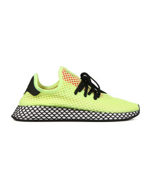 adidas Originals Mens Yellow Deerupt Trainer