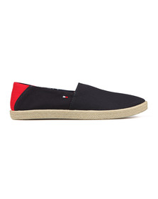 Tommy Hilfiger Mens Black Easy Summer Slip on