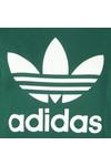 adidas Originals Womens Green Large Trefoil Crew Sweatshirt