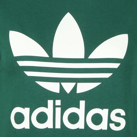 adidas Originals Womens Green Large Trefoil Crew Sweatshirt main image