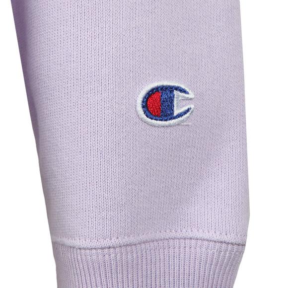 Champion Womens Purple Small Script Logo Overhead Hoody main image