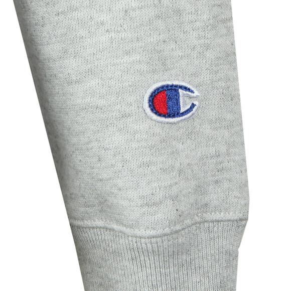 Champion Reverse Weave Womens Grey Small Script Logo Overhead Hoody main image