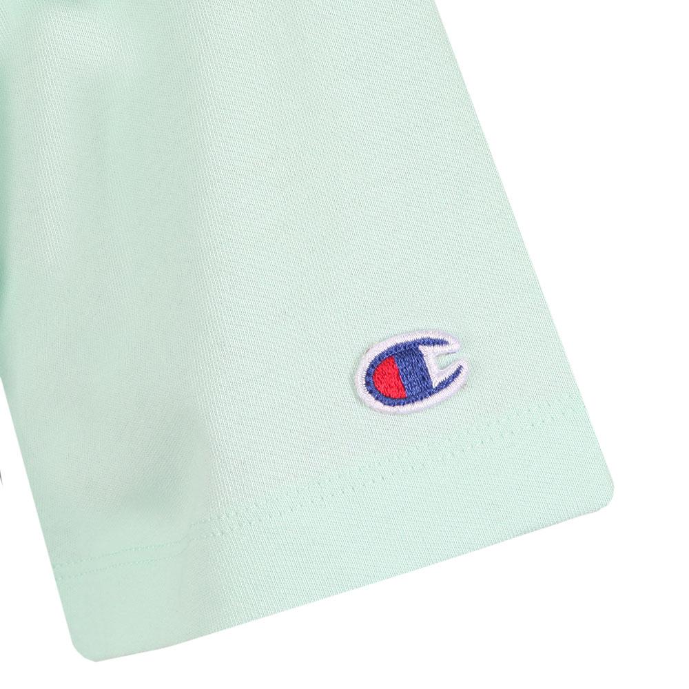 e5eab99c Champion Small Script Logo Cropped T Shirt | Oxygen Clothing