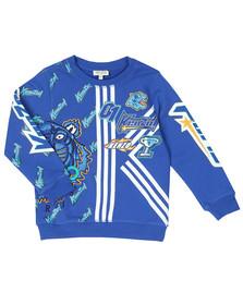 Kenzo Kids Boys Blue Freyo Racing Kenzo Sweatshirt