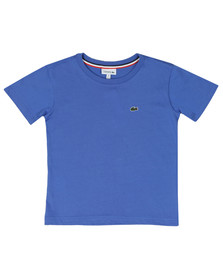 Lacoste Boys Blue Small Logo T Shirt
