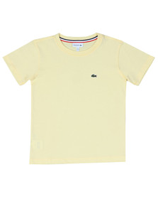 Lacoste Boys Yellow Small Logo T Shirt
