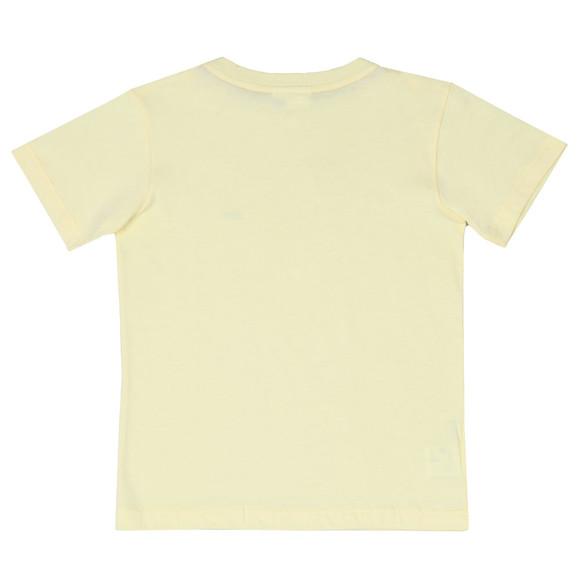 Lacoste Boys Yellow Small Logo T Shirt main image