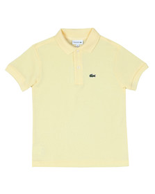 Lacoste Boys Yellow PJ2909 Polo Shirt