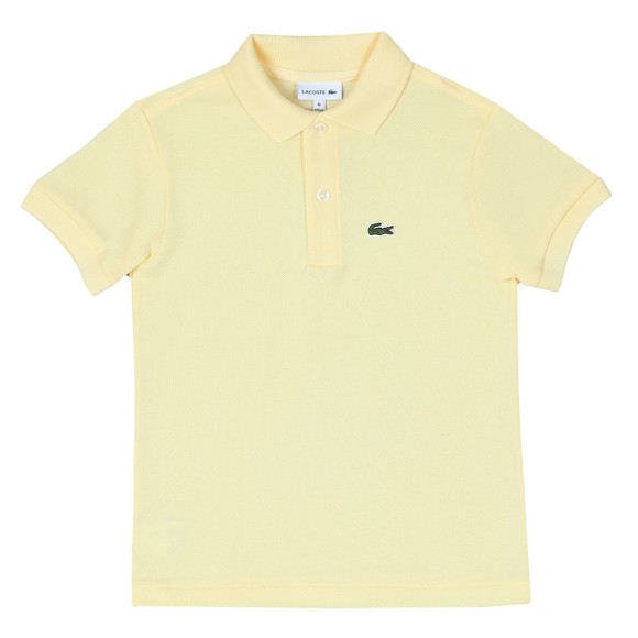Lacoste Boys Yellow PJ2909 Polo Shirt main image