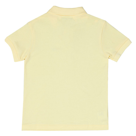 Lacoste Boys Yellow PJ2909 Polo Shirt main image