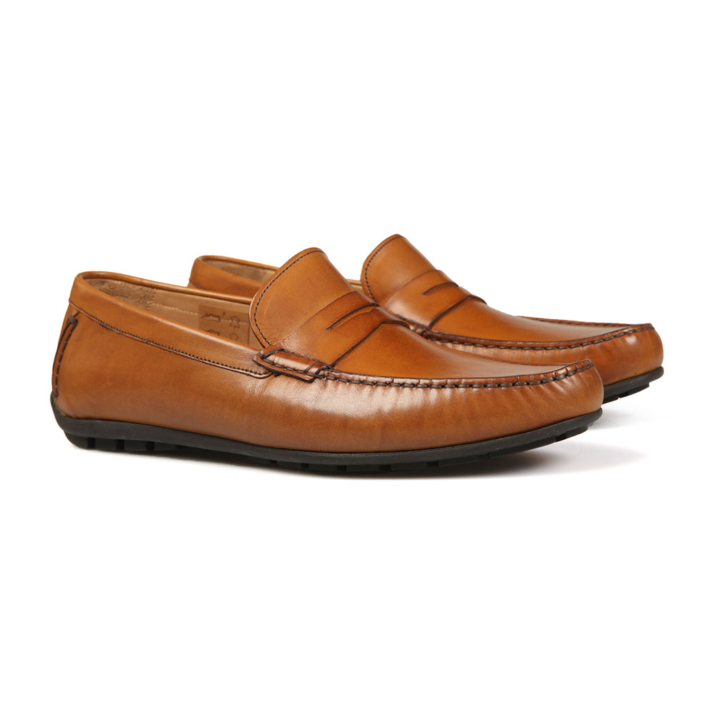 Goodwood Leather Moccasin Shoe main image