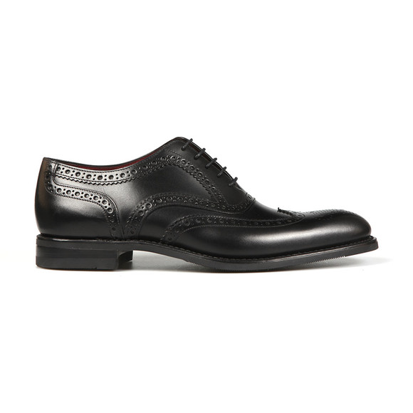 Loake Mens Black Kerridge Brogue