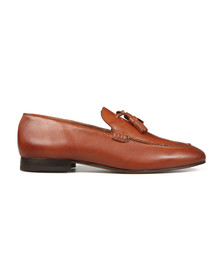 H By Hudson Mens Brown Bolton Leather Shoe