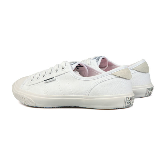 Superdry Womens White Low Pro Trainer main image