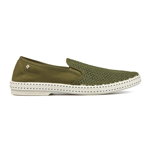Rivieras Mens Green Classic 20 Loafers