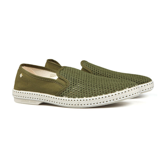 Rivieras Mens Green Classic 20 Loafers  main image
