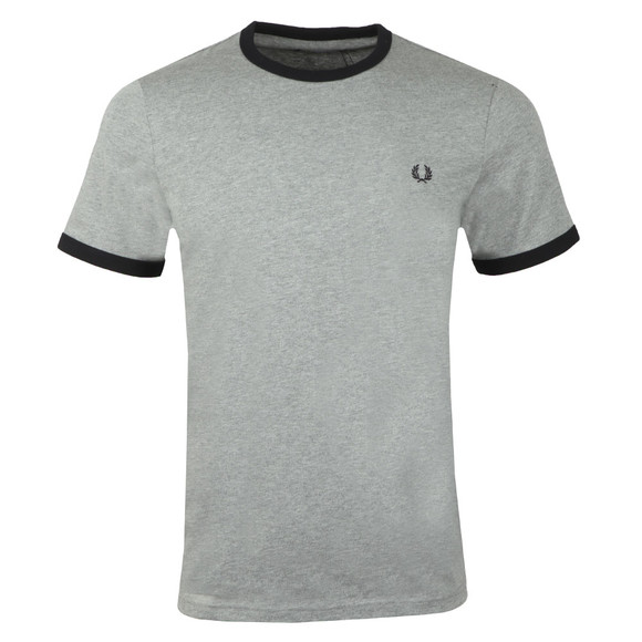 Fred Perry Sportswear Mens Grey Ringer T-Shirt main image