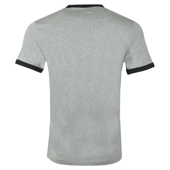 Fred Perry Mens Grey Ringer T-Shirt main image