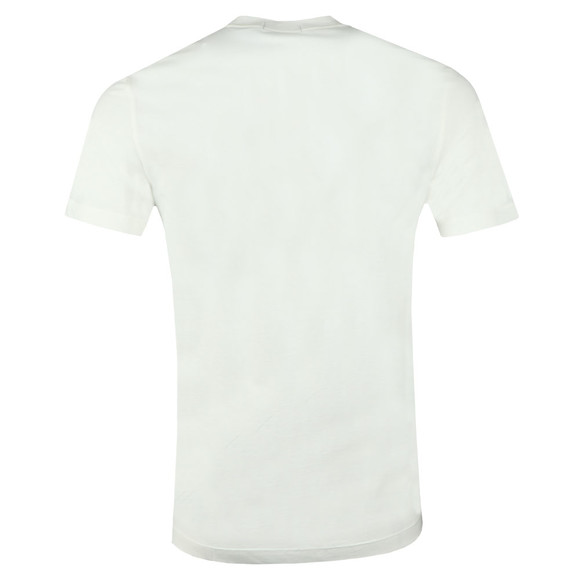 Fred Perry Mens Off-White Colour Block T-Shirt main image