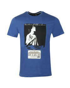 Weekend Offender Mens Blue King Monkey T-Shirt