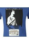 Weekend Offender Mens Blue King Monkey T-Shirt