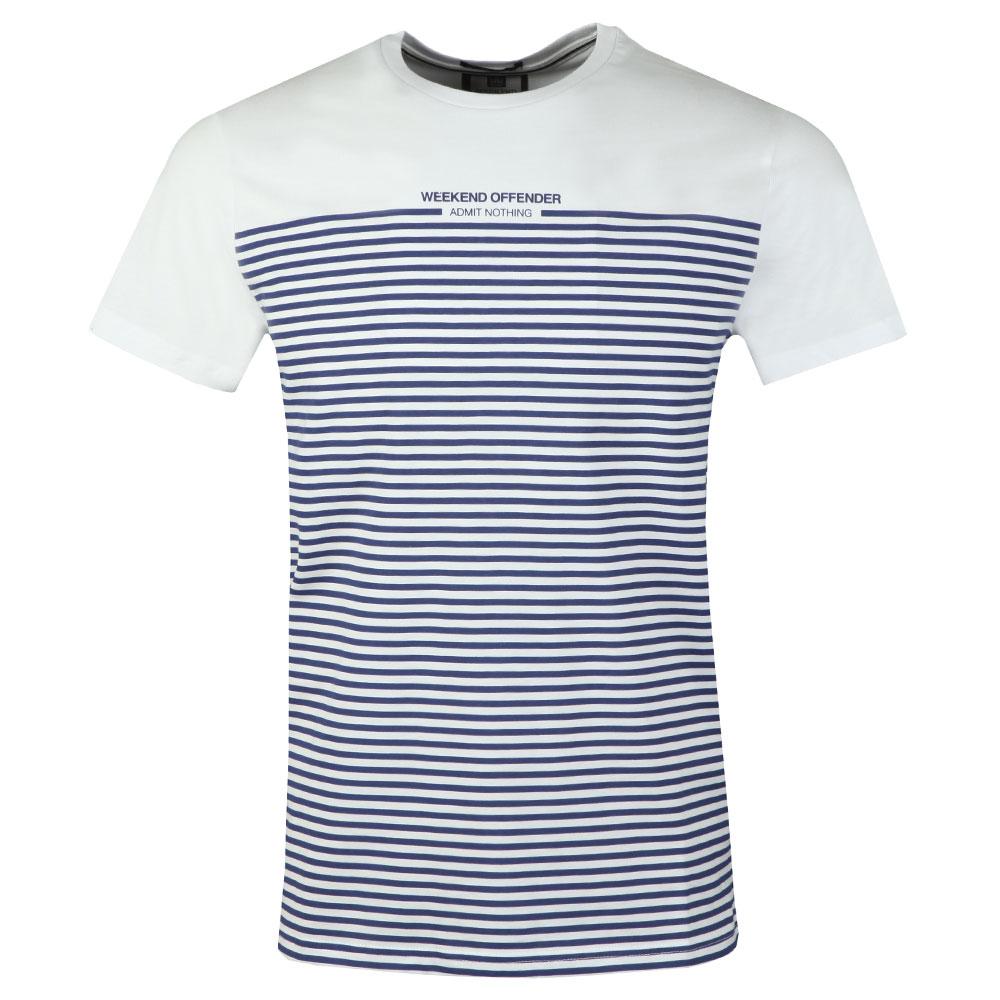 Half Stripes T-Shirt main image