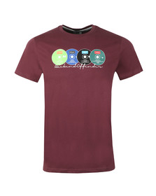 Weekend Offender Mens Red Definitely Maybe T-Shirt