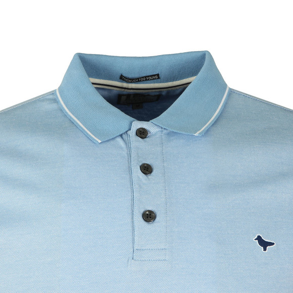 Weekend Offender Mens Blue Dell Anna Polo Shirt main image