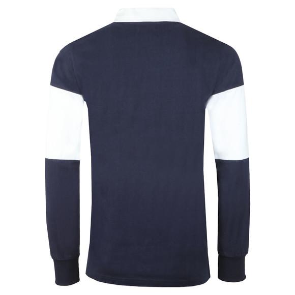 Penfield Mens Blue Cass Rugby Shirt main image