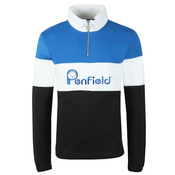 Penfield Mens Black Gravas Half Zip Sweat main image