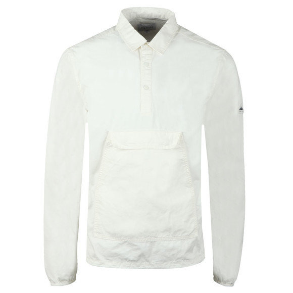 Penfield Mens White Adelanto Garment Dye Shirt main image