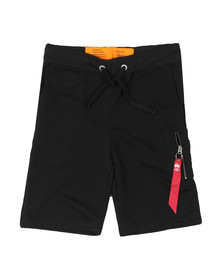 Alpha Industries Mens Black X Fit Sweat Short