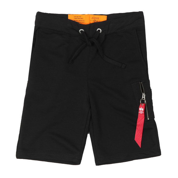 Alpha Industries Mens Black X Fit Sweat Short main image