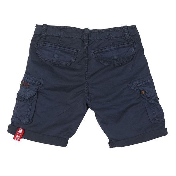 Alpha Industries Mens Blue Crew Cargo Short main image